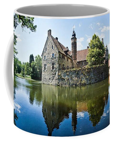 Burg Vischering Coffee Mug featuring the photograph Burg Vischering by Dave Bowman