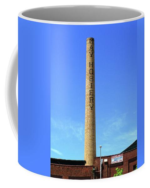 America Coffee Mug featuring the photograph Burlington, North Carolina Factory by Frank Romeo