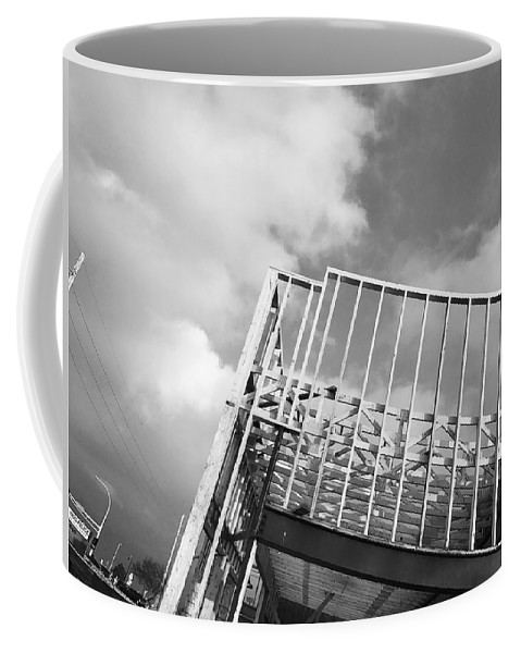 Construction Coffee Mug featuring the photograph Burnsville #2 by Julian Grant