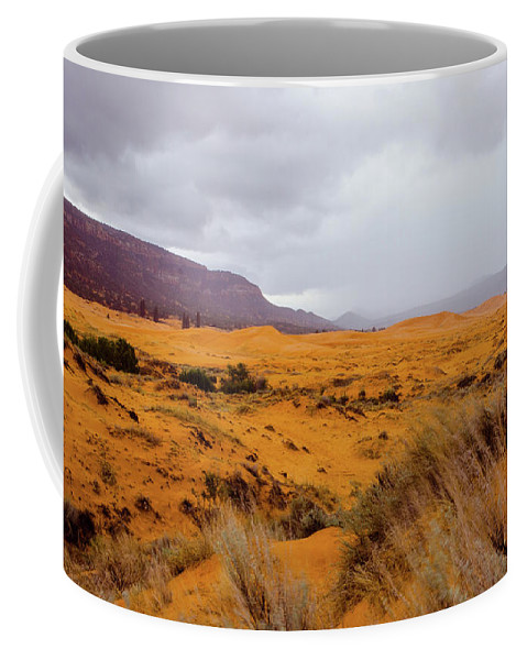 Paria Coffee Mug featuring the photograph Burnt Earth by Jerry Sellers