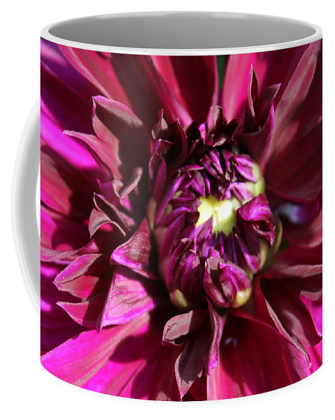 Flower Coffee Mug featuring the photograph Bursting by Deborah Crew-Johnson