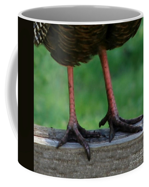 Turkey Coffee Mug featuring the photograph Busted by Barbara S Nickerson