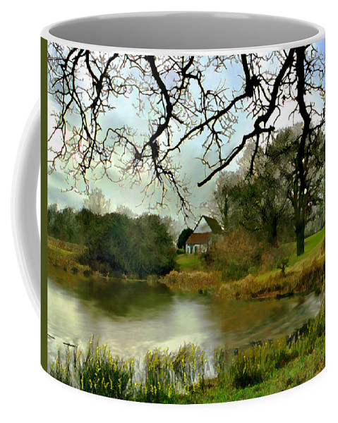 England Coffee Mug featuring the photograph Butlers Retreat Epping Forest Uk by Kurt Van Wagner