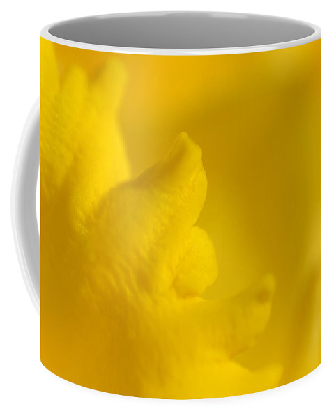 Flower Coffee Mug featuring the photograph Butter Fingers by Donna Blackhall