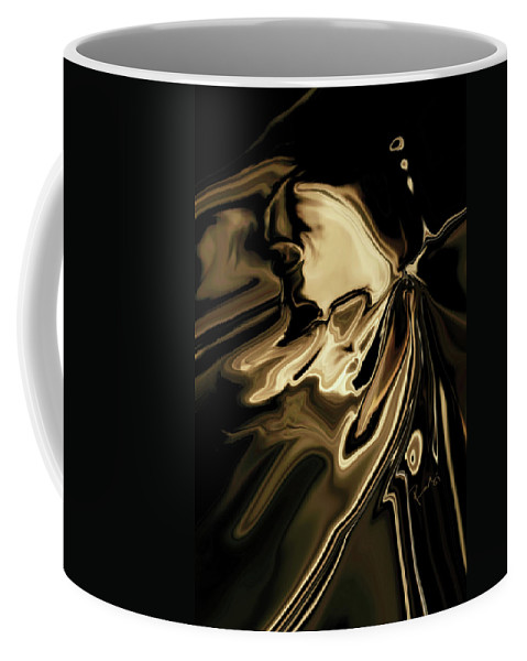 Butterfly Coffee Mug featuring the digital art Butterfly 2 by Rabi Khan
