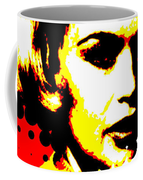 Nostalgic Seduction Coffee Mug featuring the photograph Butterfly Headcase by Chris Andruskiewicz