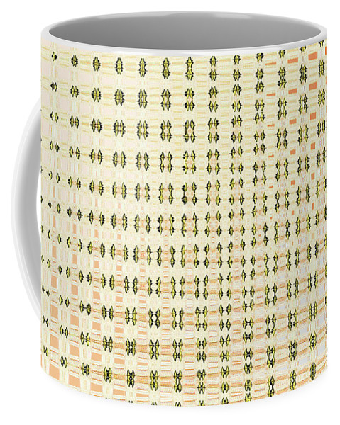 Butterfly Multiplication Abstract Coffee Mug featuring the photograph Butterfly Multiplication Abstract, by Tom Janca