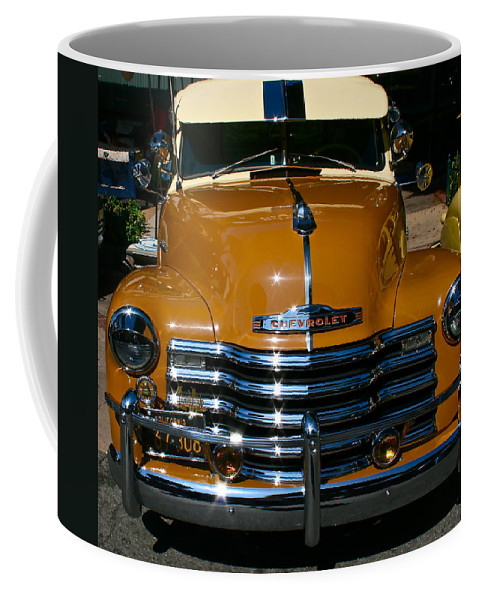 Photograph Of Chevrolet Coffee Mug featuring the photograph Butterscotch by Gwyn Newcombe