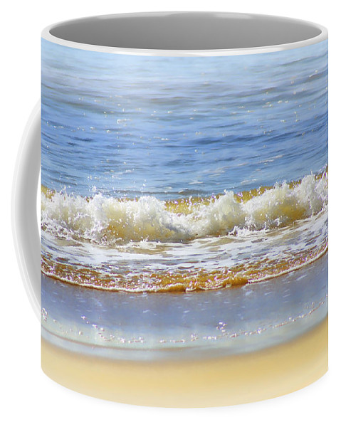 Seascapes Coffee Mug featuring the photograph By The Coral Sea by Holly Kempe