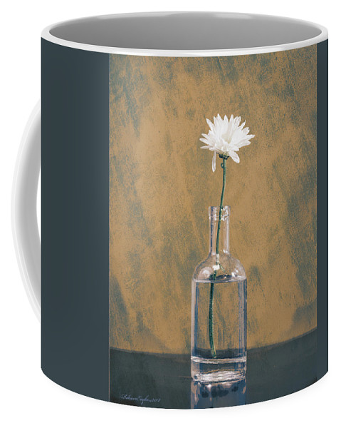 Daisy Coffee Mug featuring the photograph Bygone Days by Rebecca Raybon