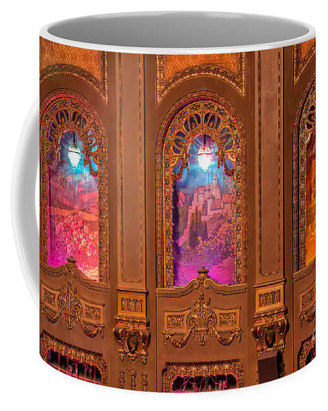 Byrd Theater Alcoves Coffee Mug featuring the photograph Byrd Theater Alcoves by Jemmy Archer