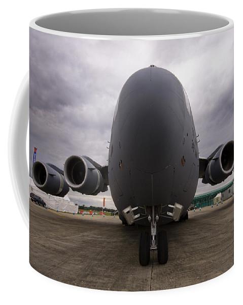 C-17 Coffee Mug featuring the photograph C-17 by Angel Tarantella