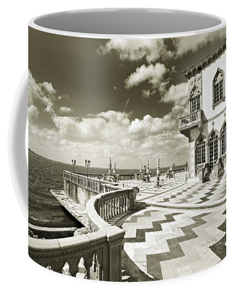 Ringling Coffee Mug featuring the photograph Ca D'zan Mansion by Mal Bray