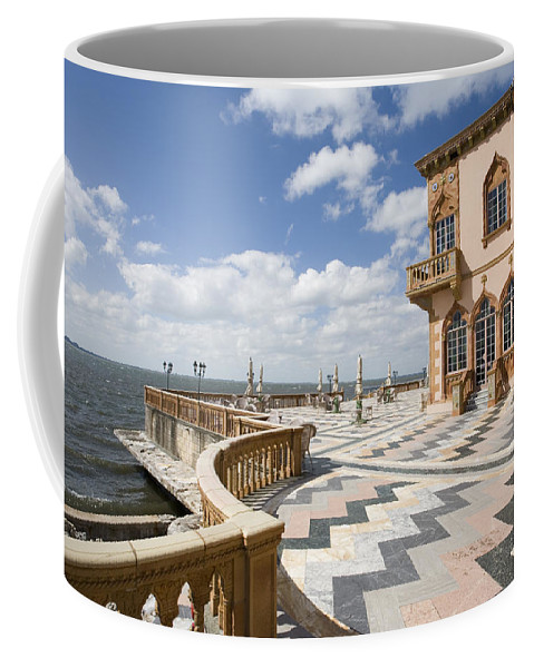 Ringling Coffee Mug featuring the photograph Ca D'zan Mansion Sarasota by Mal Bray