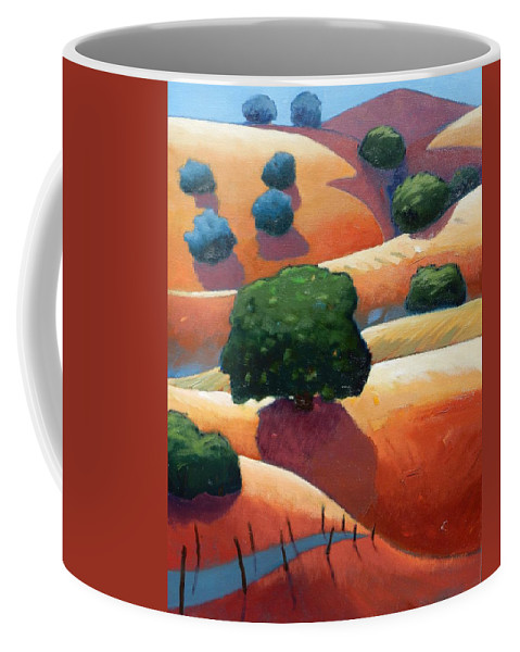 California Coffee Mug featuring the painting Ca Rollers Trip I by Gary Coleman