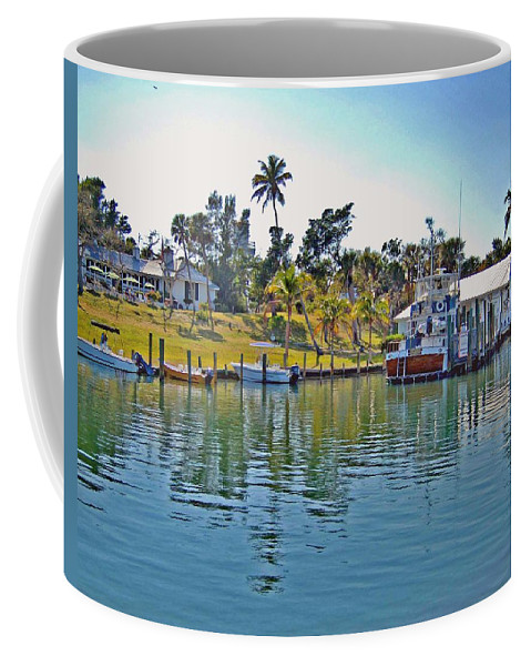 Water Coffee Mug featuring the photograph Cabbage Key by Michael Thomas
