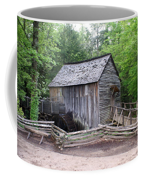 Cable Mill Coffee Mug featuring the photograph Cable Mill by Marty Koch