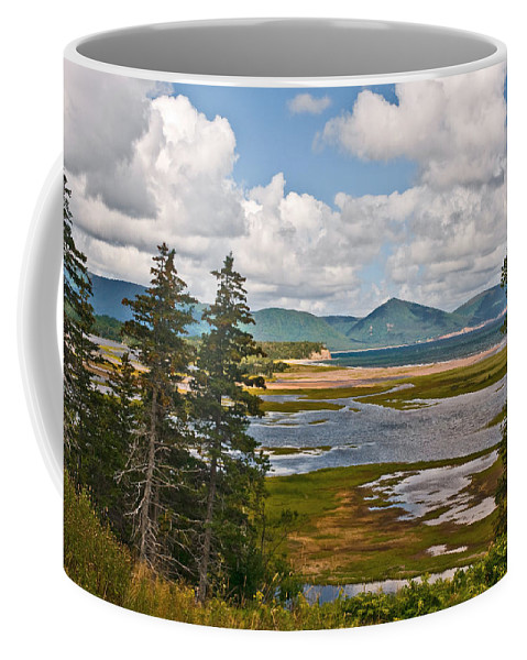 Cabot Trail Nova Scotia Coffee Mug featuring the photograph Cabot Trail In Nova Scotia by Ginger Wakem