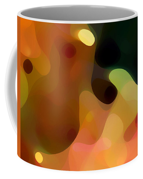 Bold Coffee Mug featuring the painting Cactus Fruit by Amy Vangsgard