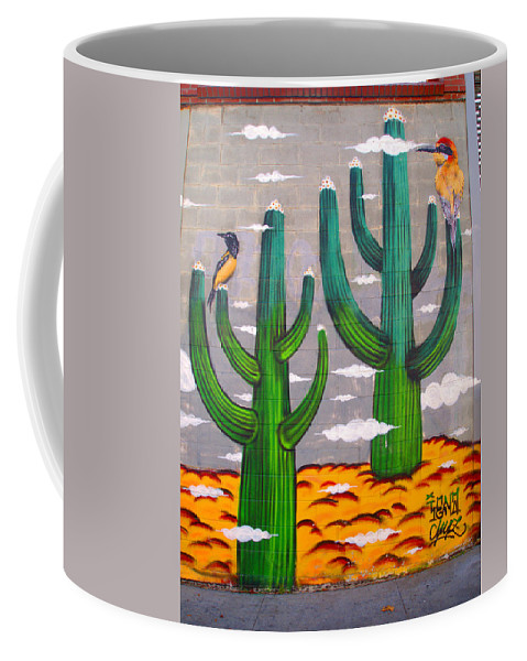 Cactus Coffee Mug featuring the photograph Cactus by Newwwman