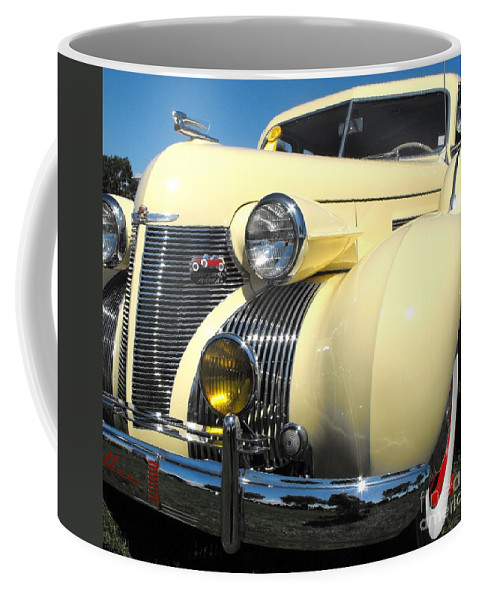 Cadillac Coffee Mug featuring the photograph Cadillac Fleetwood by Neil Zimmerman