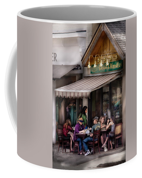 Savad Coffee Mug featuring the photograph Cafe - Westfield Nj - Gabi's Sushi And Noodles by Mike Savad