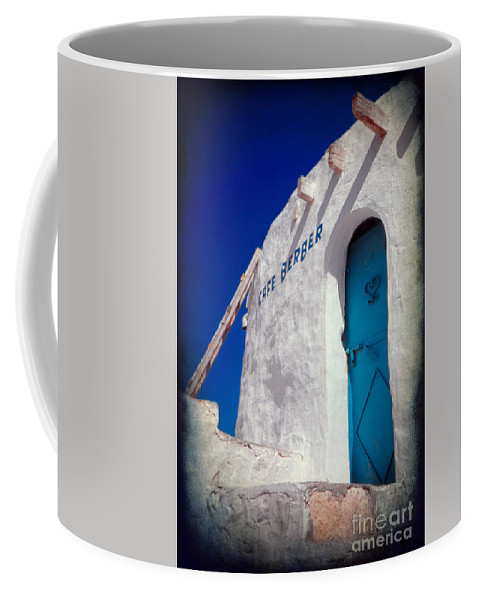 Tunisia Coffee Mug featuring the photograph Cafe Berber by Silvia Ganora