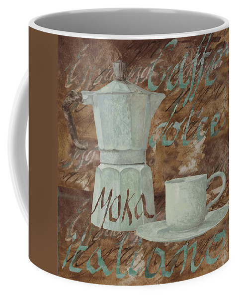 Caffe Coffee Mug featuring the painting Caffe Espresso by Guido Borelli