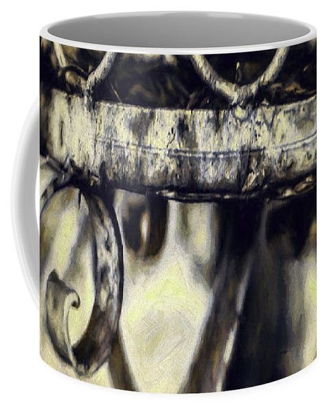 Cage Coffee Mug featuring the photograph Caged by Jean OKeeffe Macro Abundance Art