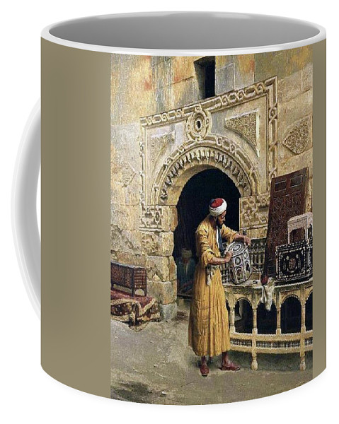 Cairo 1900 Coffee Mug featuring the digital art Cairo by Mark Carlson