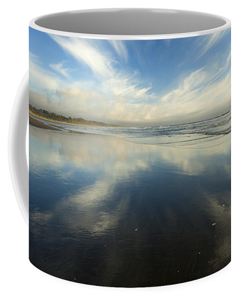Cirrus Coffee Mug featuring the photograph California Cirrus Explosion by Mike Dawson