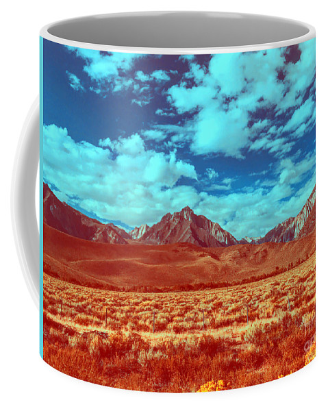 California Coffee Mug featuring the photograph California Postcards One by Collective Seventy