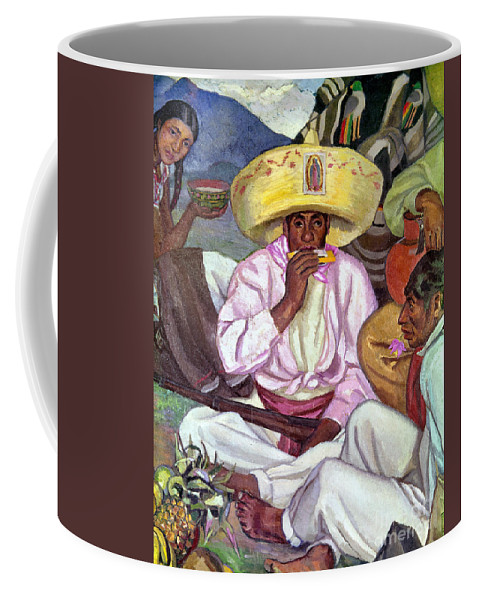 1922 Coffee Mug featuring the photograph Camping Zapatistas, 1922 by Granger