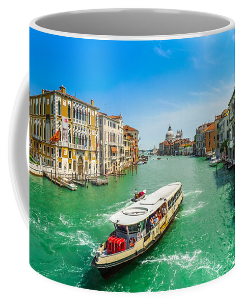 Adriatic Coffee Mug featuring the photograph Famous Canal Grande In Venice by JR Photography