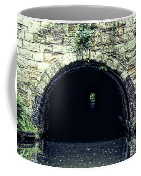 Tardebigge Coffee Mug featuring the photograph Canal Tunnel by Roy Pedersen