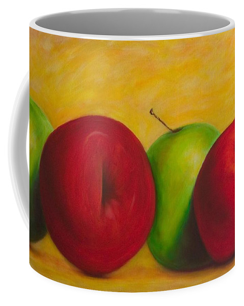 Still Life Coffee Mug featuring the painting Cancan by Shannon Grissom