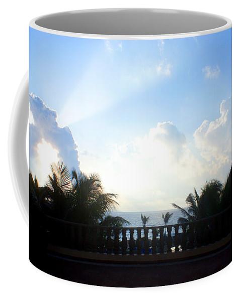 Sky Coffee Mug featuring the photograph Cancun Sunrise by Jean Haynes