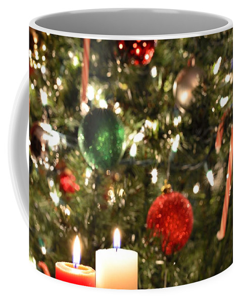 Christmas Coffee Mug featuring the photograph Candles For Christmas 2 by Michael Scott
