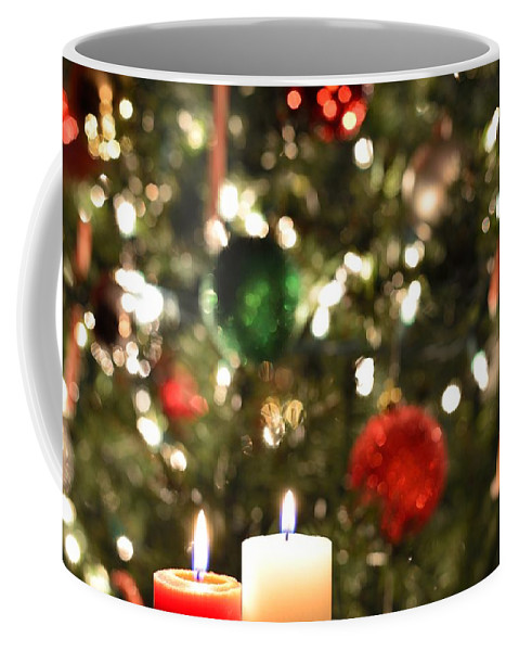 Christmas Coffee Mug featuring the photograph Candles For Christmas 3 by Michael Scott