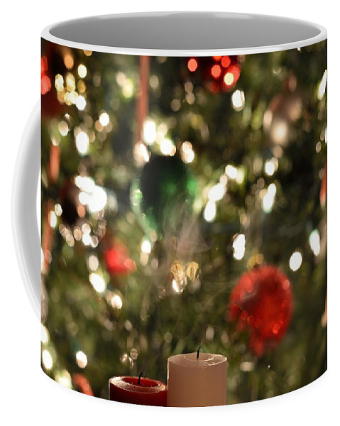 Christmas Coffee Mug featuring the photograph Candles For Christmas 4 by Michael Scott