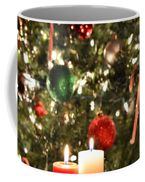 Christmas Coffee Mug featuring the photograph Candles For Christmas 5 by Michael Scott