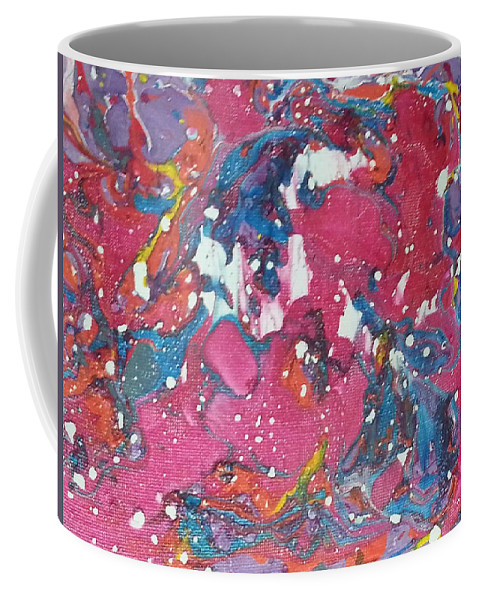 Coffee Mug featuring the painting Candy Too by Jan Pellizzer