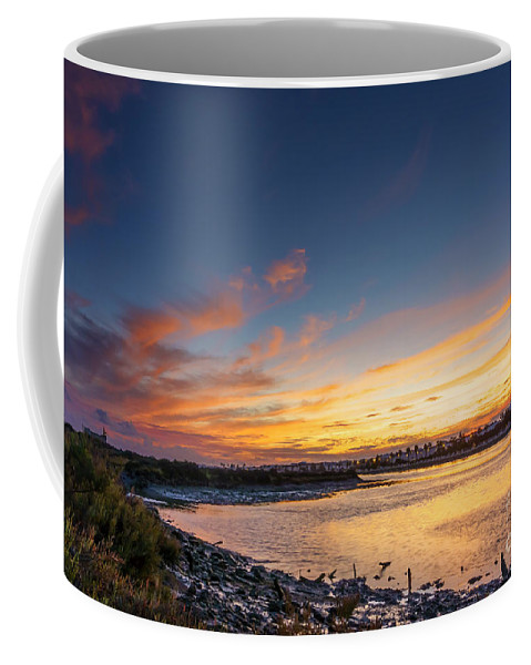 Andalucia Coffee Mug featuring the photograph Canho De Sancti Petri San Fernando Cadiz Spain by Pablo Avanzini