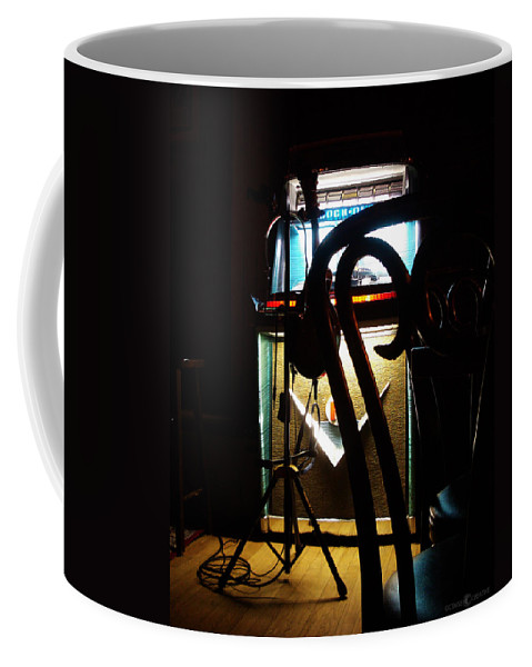 Music Coffee Mug featuring the photograph Canned Music by Tim Nyberg
