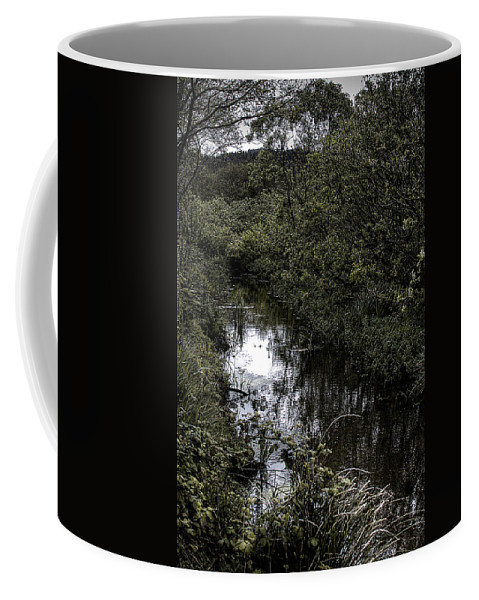 River Coffee Mug featuring the photograph Cannon Beach Creek by David Patterson