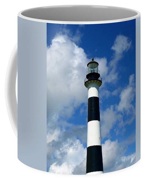 Coffee Mug featuring the photograph Canveral Light by Allan Hughes