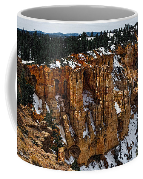 Bryce Canyon Coffee Mug featuring the photograph Canyon Alcoves by Christopher Holmes
