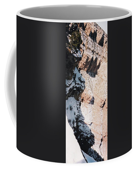 Canyon Coffee Mug featuring the photograph Canyon Side by Pharris Art