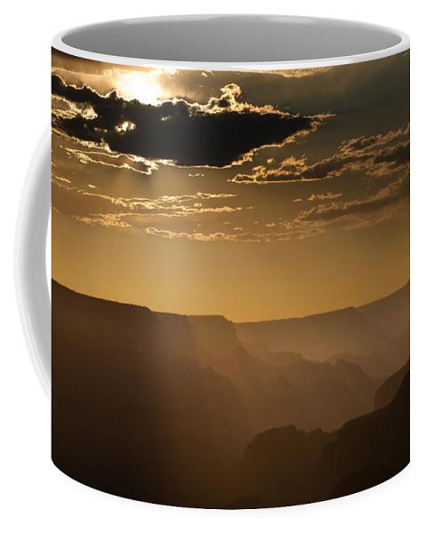 Arizona Coffee Mug featuring the photograph Canyon Strata by Steve Gadomski