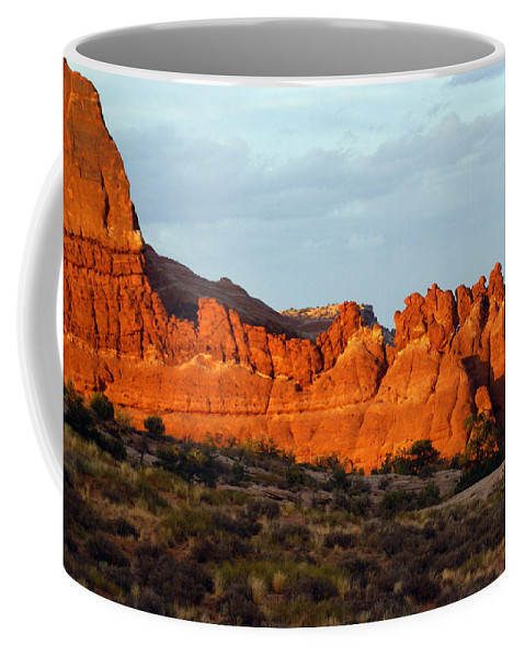 Utah Coffee Mug featuring the photograph Canyonlands At Sunset by Marty Koch